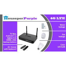 Starter pack: Houseper Purple 4G