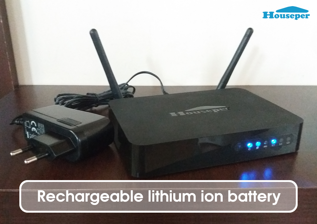 Houseper rechargeable battery